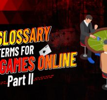 Glossary Terms For Poker Games Online