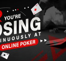 5 Reasons You're Losing Continuously at Online Poker